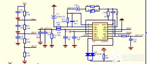 请问这个运放电路是怎么工作的,增益如何计算?C3和C19的作用分别是什么?