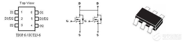 請問SOT23-6  8205 芯片在移動電源中的作用是什么?