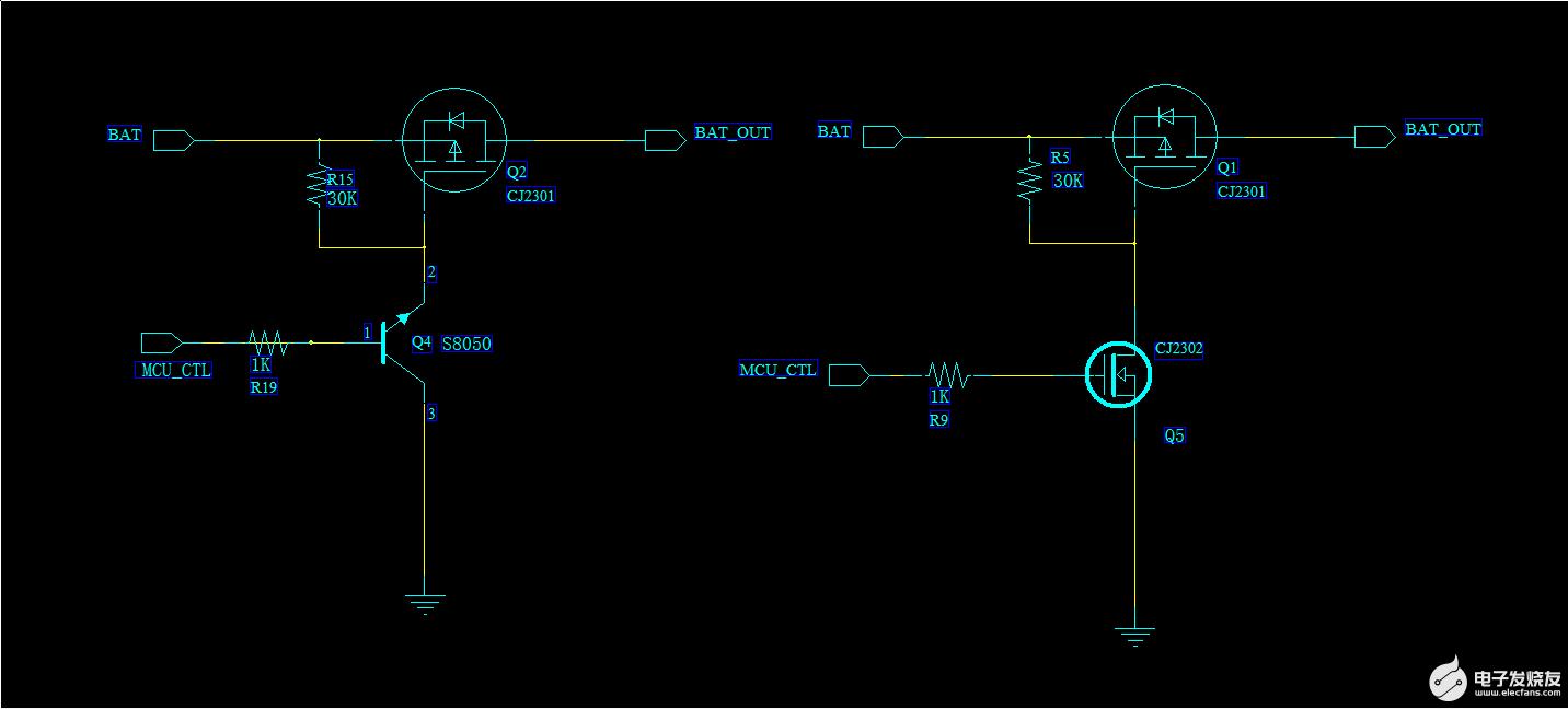 MOS和三极管驱动电路