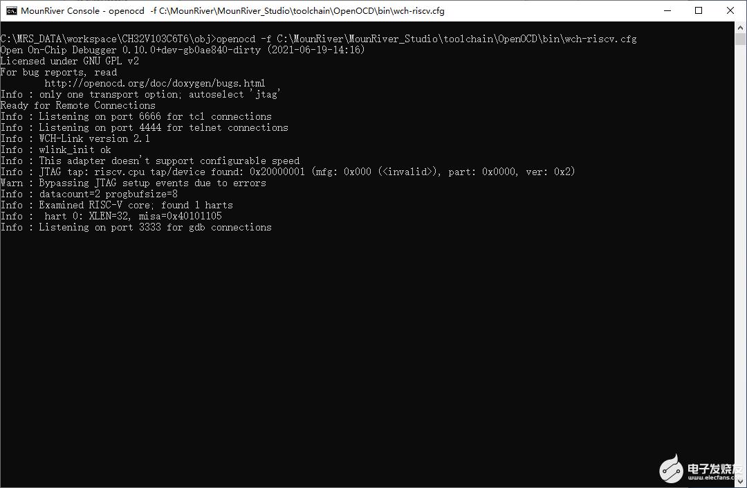 RISC-V MCU开发(十二):命令行操作