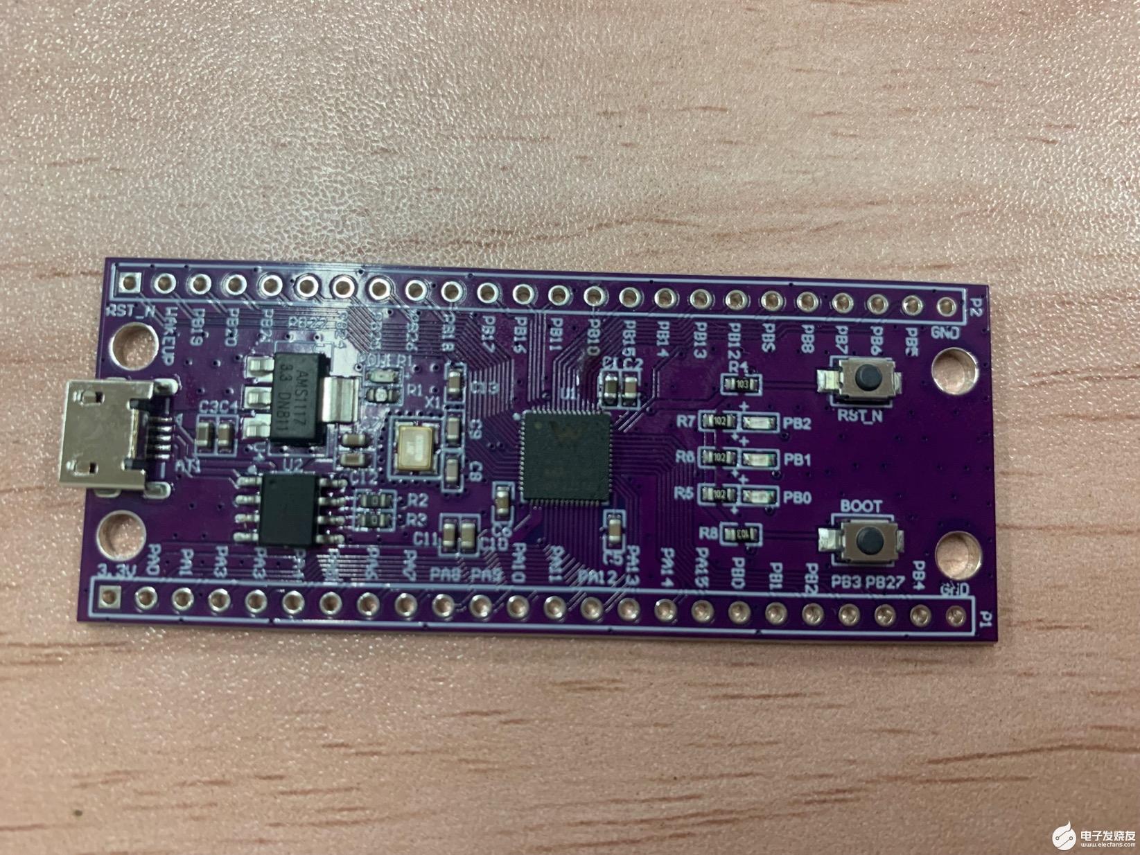 【联盛德W806-KIT开发板试用体验】1.开箱与点灯
