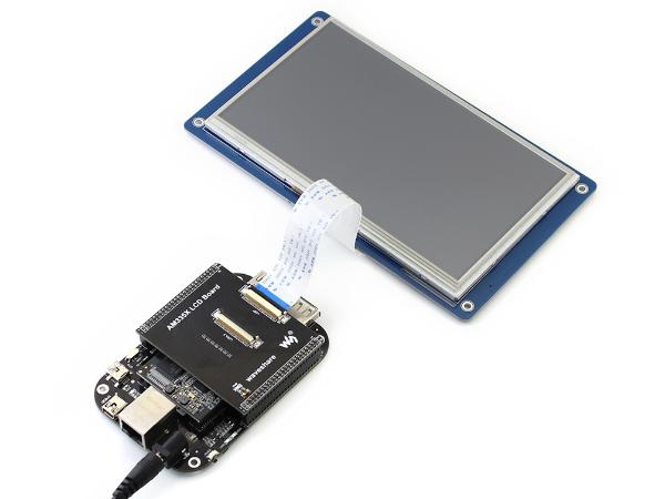 火星开发板 MarsBoard AM335X 带7寸LCD套件